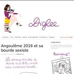 Angoulême 2016 et sa bourde sexiste