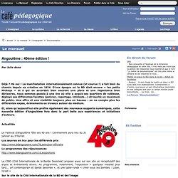 Festival de la BD D'Angoulême : dossier Café péda.