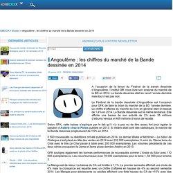 Angoulême : les chiffres du marché de la Bande dessinée en 2014