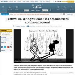 Festival BD d'Angoulême : les dessinatrices contre-attaquent