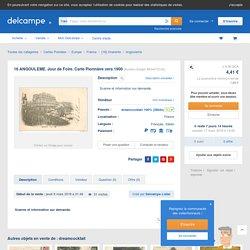 Angouleme - 16 ANGOULEME. Jour de Foire. Carte Pionnière vers 1900