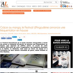 Grâce au manga, le Festival d'Angoulême annonce une fréquentation en hausse