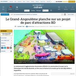Le Grand-Angoulême planche sur un projet de parc d'attractions BD