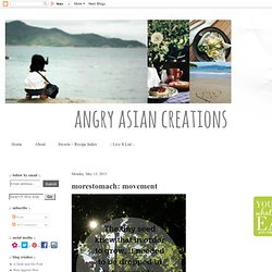 Angry Asian Creations - i'm asian. i'm angry. i create.