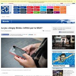 Le jeu «Angry Birds» infiltré par la NSA?