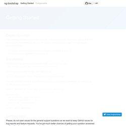 Angular 2 powered Bootstrap