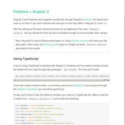 Angular 2 · The FeathersJS Book