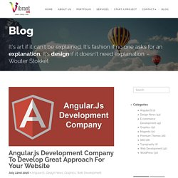 Angular.js Development Company To Develop Great Approach For Your Website