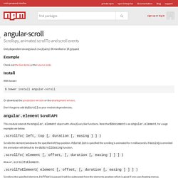 angular-scroll