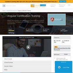Learn Angular 2/4/5/6