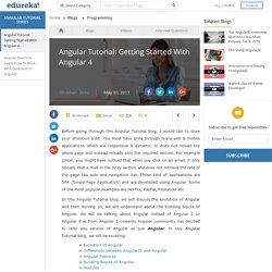 Angular Tutorial for Beginners