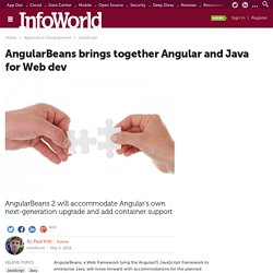 AngularBeans brings together Angular and Java for Web dev