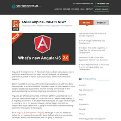 Angularjs 2.0 – What's New?