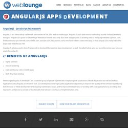 Why Need to Hire AngularJS Developer?