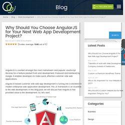 Why Should You Choose AngularJS for Your Next Web App Development Project? - OG Web Solutions – OG Web Solutions