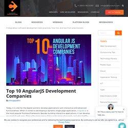 Top 10 AngularJS Development Companies