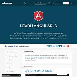 Learn AngularJS Online - Codementor