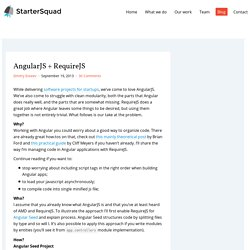 AngularJS + RequireJS