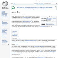 Angus Reed - Wikipedia