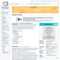 Anicée Alvina
