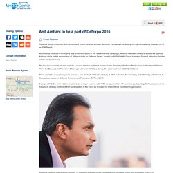 Anil Ambani to be a part of...
