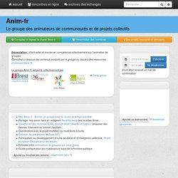 anim-fr : PagePrincipale
