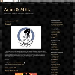 Anim & MEL