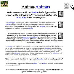 ANIMA/ANIMUS