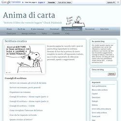 Anima di carta: Scrittura creativa