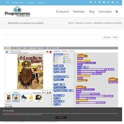 Animación a la lectura con Scratch – Programamos