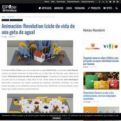 Animación: Revolution (ciclo de vida de una gota de agua)