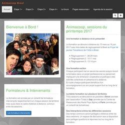 Animacoop Brest printemps 2017 : PagePrincipale