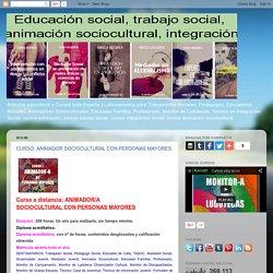 ANIMADOR SOCIOCULTURAL CON PERSONAS MAYORES ...