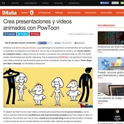 PowToon te ayuda a crear vídeos animados para presentaciones