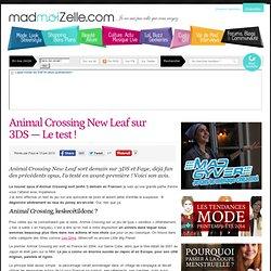 Animal Crossing New Leaf sur 3DS — Le test !