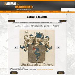 Animal & imaginaires : du sphinx à la chimère