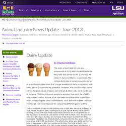 LSU AG CENTER - JUN 2013 - Animal industry news. Au sommaire: Poultry Biosecurity Plans: It is time to review them!