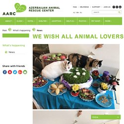 We wish all animal lovers a happy and beautiful Nowruz. - News - AARC