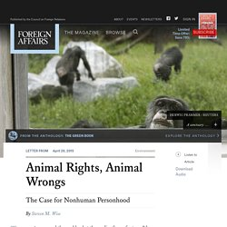 Animal Rights, Animal Wrongs
