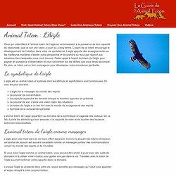 Animal Totem - L'Aigle