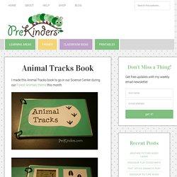 Animal Tracks Book