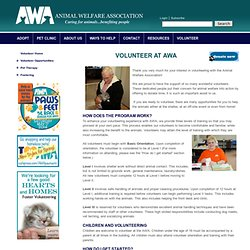 Animal Welfare Association, Inc.