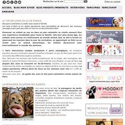Guide des zoos et parcs animaliers en région parisienne et ile de France
