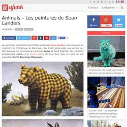 Animals – Les peintures de Sean Landers