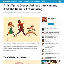 Artist Turns Disney Animals Into Humans And The Results Are Amazing