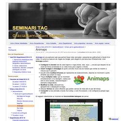Animaps - Seminari TAC Gràcia / Sarrià-Sant Gervasi