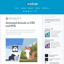 Animated Animals in CSS and SVG