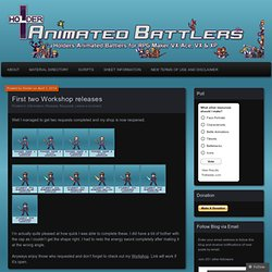 Animated Battlers