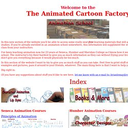The Animated Cartoon Factory's Animation School