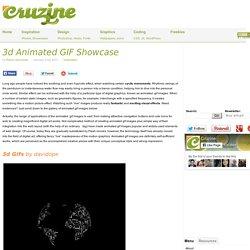 3d Animated GIF Showcase